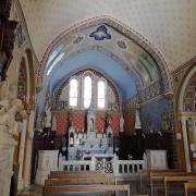 Aiguèze église intérieur©UzEssentiel.com