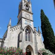 Aiguèze église©UzEssentiel