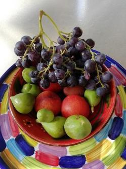 Confiture raisin figues et prunes jaunes 1