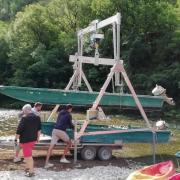 Gorges du tarn preparation de la barque
