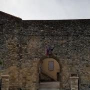 Le chateau feodal ferme collorgues