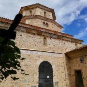 L'église du monastère de Solan